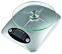 Digitale Edelstahl Küchenwaage mit Wiegeteller 5 kg Waage Briefwaage Feinwaage