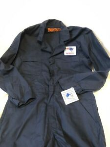 New England PATRIOTS RED KAP Worksuit Coveralls Mens size M - RG NEW NWT