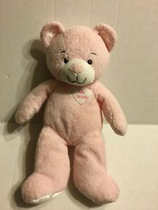 Asthma-And-Allergy-Friendly-Pink-My-Teddy-Bear-12-034-Plush-Stuffed-Animal