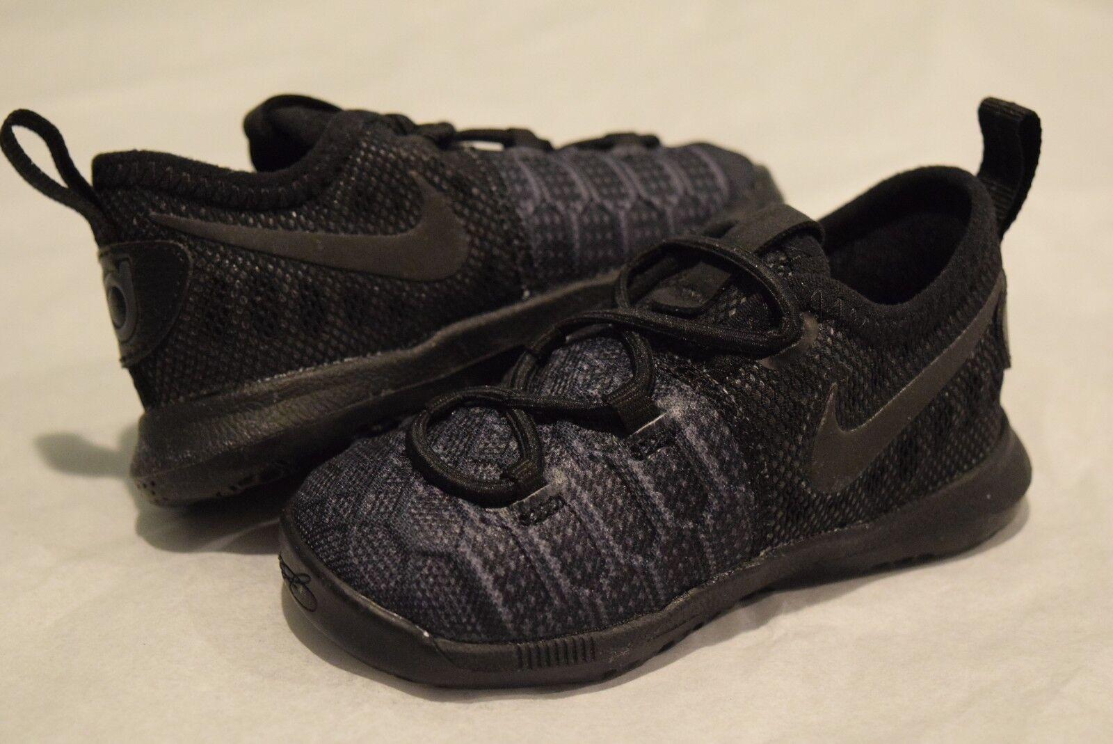 7efec8351b27 Nike KD 9 Boys  Toddler Black black anthracite 55910001 5 for sale ...