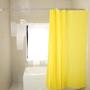 Image Is Loading Expandable Shower Curtain Rod Bathroom Adjustable Clothes Hanger