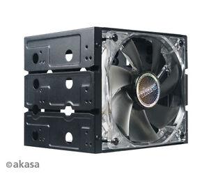 Akasa-AK-HDA-07-Cagestor-C31-Drive-Adaptor-four-3-5-034-HDD-in-three-5-25-034-bays