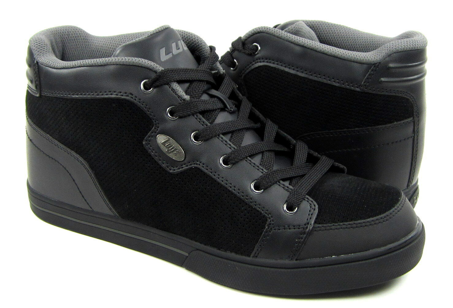Lugz Lugz Lugz scarpe Watts Casual Leather Suede nero Charcoal scarpe da ginnastica Dimensione 10 76fc1c