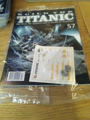 Hachette Build The Titanic Issue 57 New And Sealed