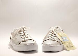 Toms Lenox Sneaker Silver Metallic Size