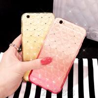 Luxury Bling Glitter Soft Diamond TPU Phone Case Cover For Apple iPhone 5 6 Plus