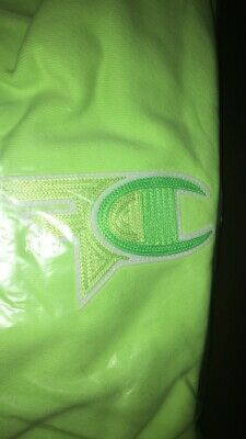 enjoy clearance price top-rated authentic limited sale Complexcon Champion x FaZe Clan Green Embroidery Hoodie medium m | eBay