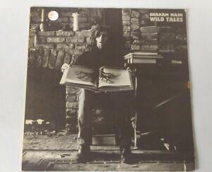 Graham Nash Wild Tales Very Good Vinyl LP Record Album SD7288 US Press Textured