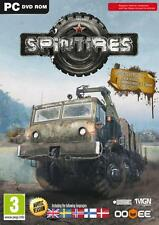 Spintires: Offroad Truck Simulator NEW SEALED (PC-DVD) new EDITION