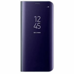 Etui-Samsung-S8-Clear-View-Standing-Cover-S8-plus-Violet-EF-ZG955-NEUF