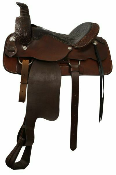Circle S Saddlery ROPING Style FQHB SADDLE  with Smooth Leather Seat  fashion mall