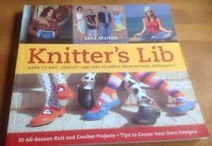 Knitter-039-s-Lib-By-Lena-Maikon-SoftBack-Book