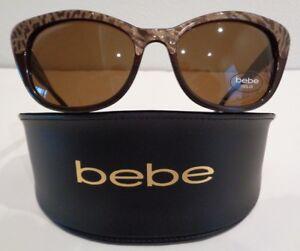 b31dcb12c1 Image is loading Bebe-PURE-ATTITUDE-BB7165-Topaz-Fashion-Sunglasses-New-