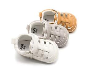 So Comfortable New Arrival Baby Boy Girl Pram Shoes Faux Leather Sneakers 0-18 M