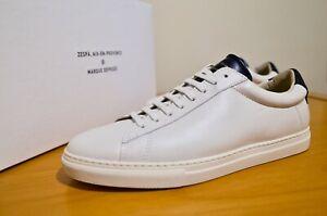 ZESPA-ZSP4-Apla-New-ALL-SIZES-50-Nappa-Offwhite-Marine-Chaussures-Neuves