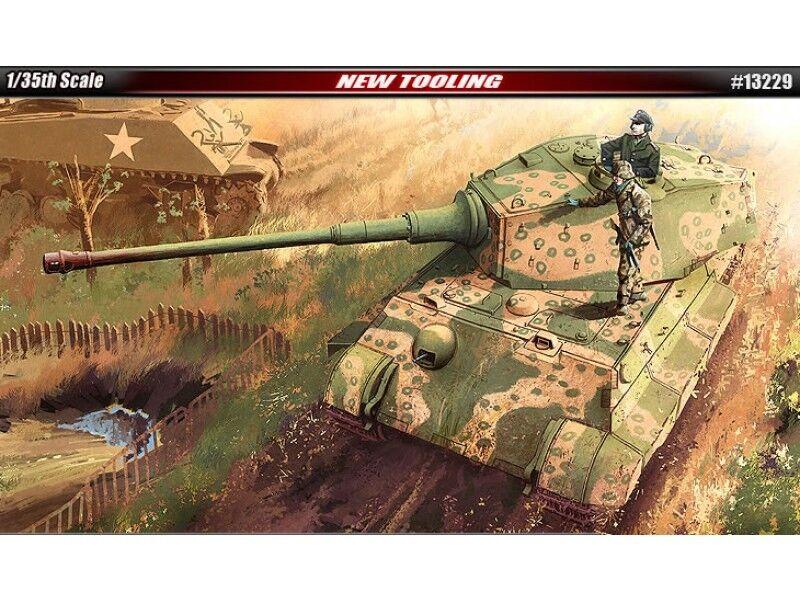 Academy 13229 1 35 e skalan Tysklands kung Tiger Sista produktion