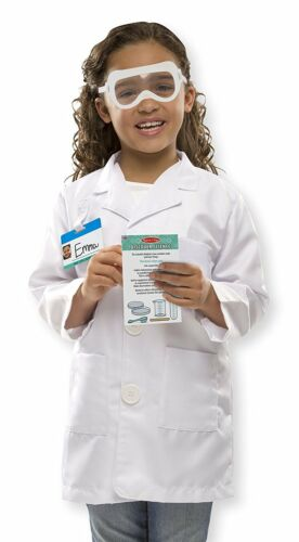 Melissa /& Doug Scientist Costume Outfit  Play Fancy Dress World Book Day