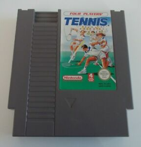 TENNIS-NINTENDO-NES-VIDEO-GAME-CARTRIDGE-TESTED-AND-WORKING-PAL-A