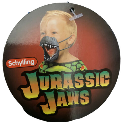 Grey JURASSIC JAWS * Ages 3+ * New Wearable /& Stretchy Dinosaur Jaws