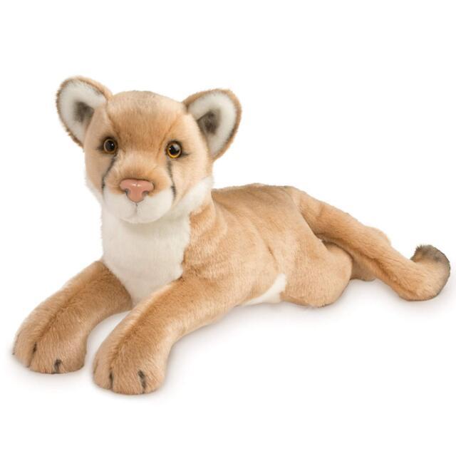 Kelso 20 Mountain Lion Plush Stuffed Animal Wild Cat Douglas Cuddle