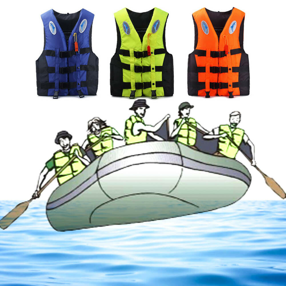 Bambino Adulto Giubbotto Salvagente Per Kayak Per Bambini Aid Life Jacket # 10