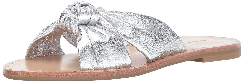 LOEFFLER RANDALL Womens Lucia Studded Knot Slide Sandal- Pick SZ color.