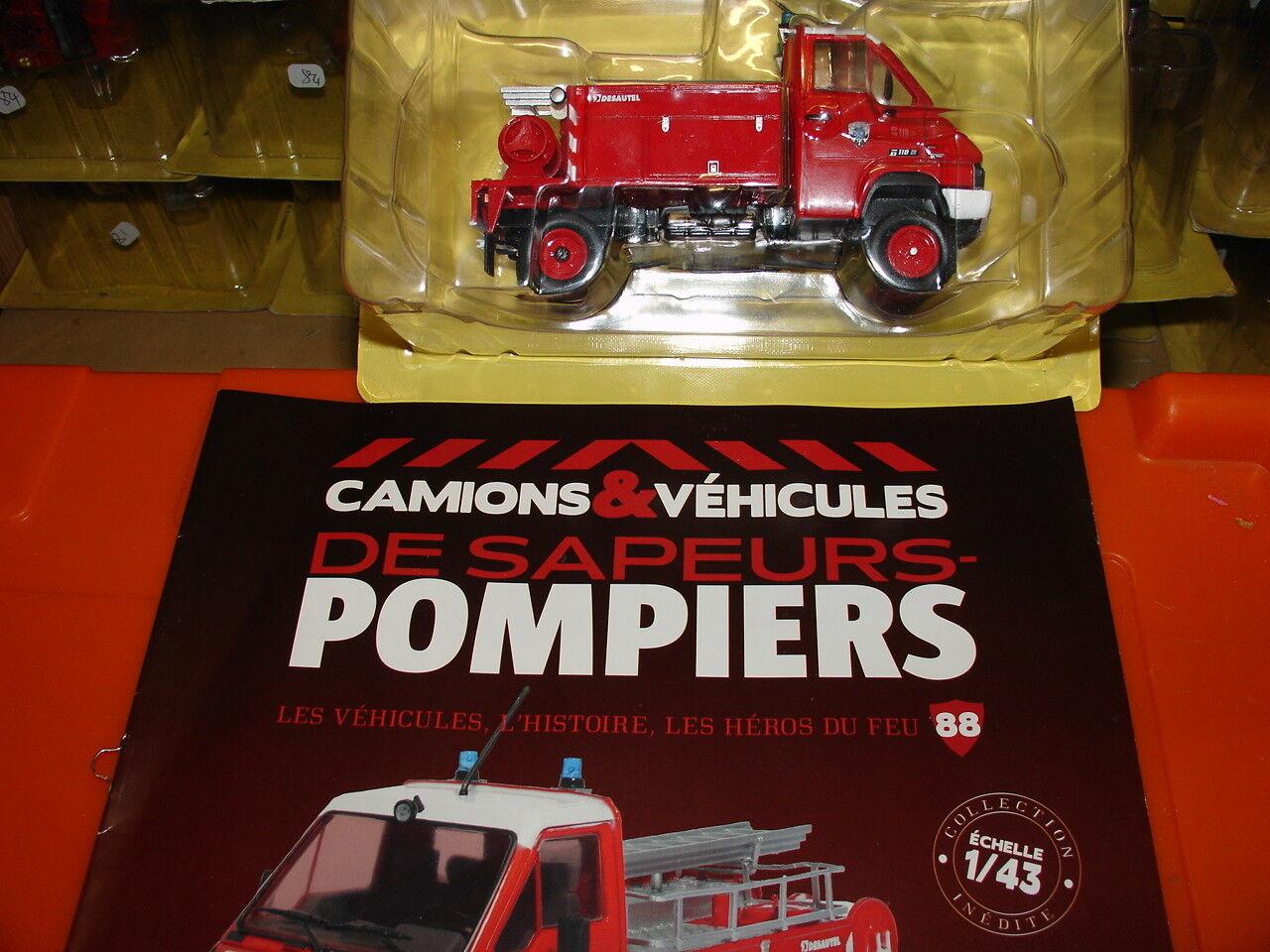 Camions de pompier SUR RENAULT B110 4X4  N°88