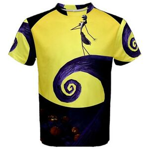4d32cdcf2b Details about Nightmare Before Christmas Sublimation Men's Sport Mesh Tee T- Shirt Size XS-3XL