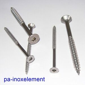 Spanplattenschrauben-Holzschrauben-TORX-V2A-3mm-3-5mm-4mm-4-5mm-5mm-6-0mm-A-9047