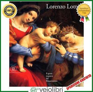 Libro-LORENZO-LOTTO-Il-genio-inquieto-del-Rinascimento-arte-catalogo-monografia