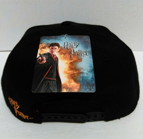 Harry Potter Lightning Bolt Original Snapback Hat Cap Bioworld WB NWT