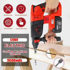 Usa Electric Cordless Lithium Ion Sds Rotary Hammer Drill 4 Mode Withstorage Case