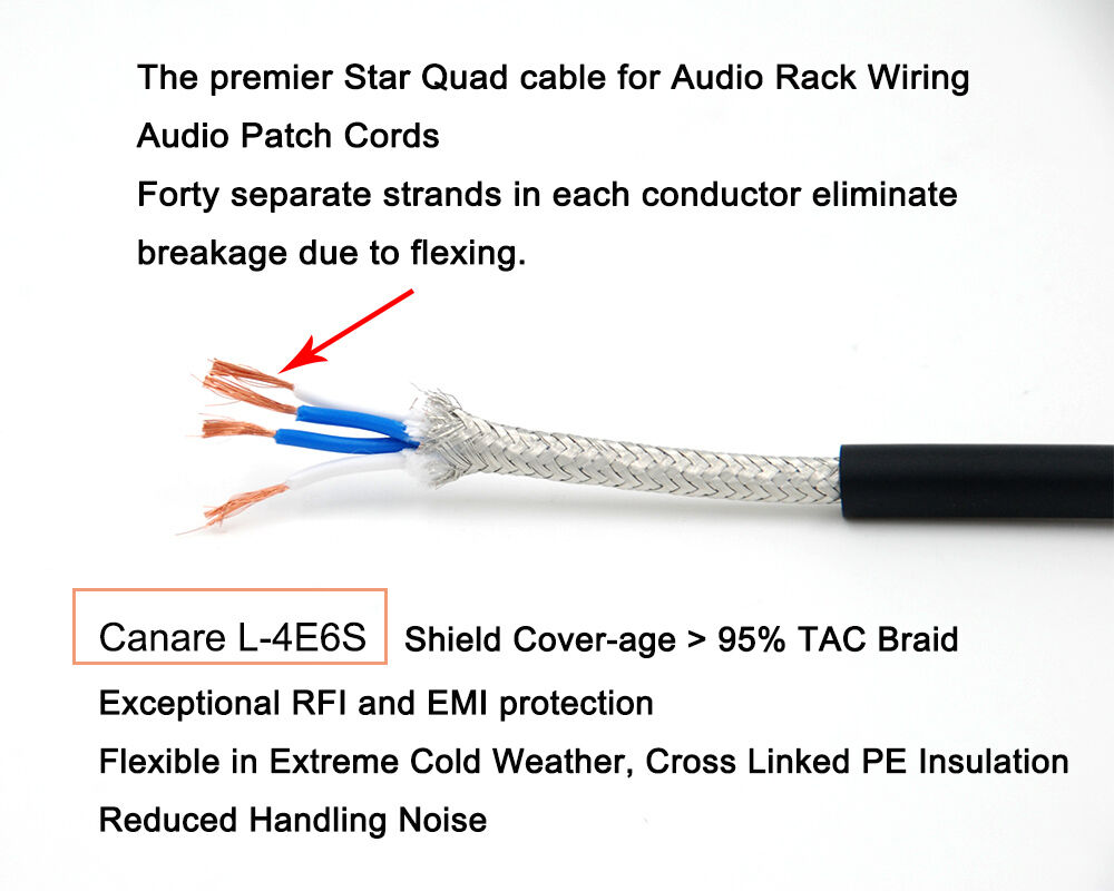 Star quad wiring wire center bulk 10 feet of canare l 4e6s black star quad microphone cable ebay rh ebay com star quad microphone cable wiring star quad xlr wiring asfbconference2016 Image collections