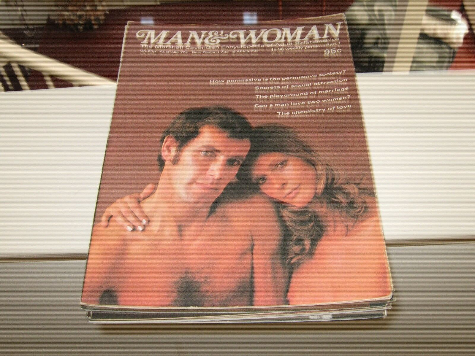 Man and Woman Part 1-87 ALL Mint Condition THE MARSHALL