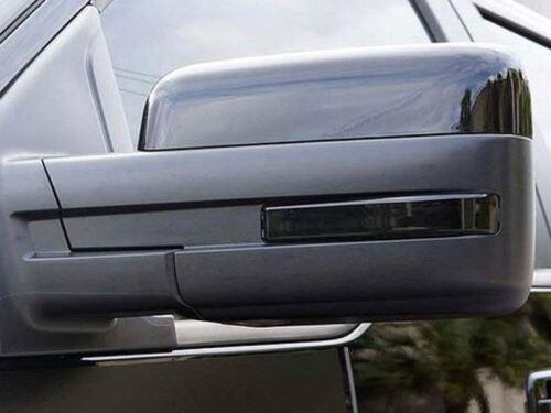 LED Smoke Lens Side Mirrors Reflector Turn Signal Light For F-150 Raptor 09-14