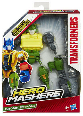 Transformers Hero Mashers Autobot Springer Figure Hasbro A8401 Brand New Masher!