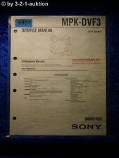 Sony Service Manual MPK DVF3 Marine Pack (#5951)
