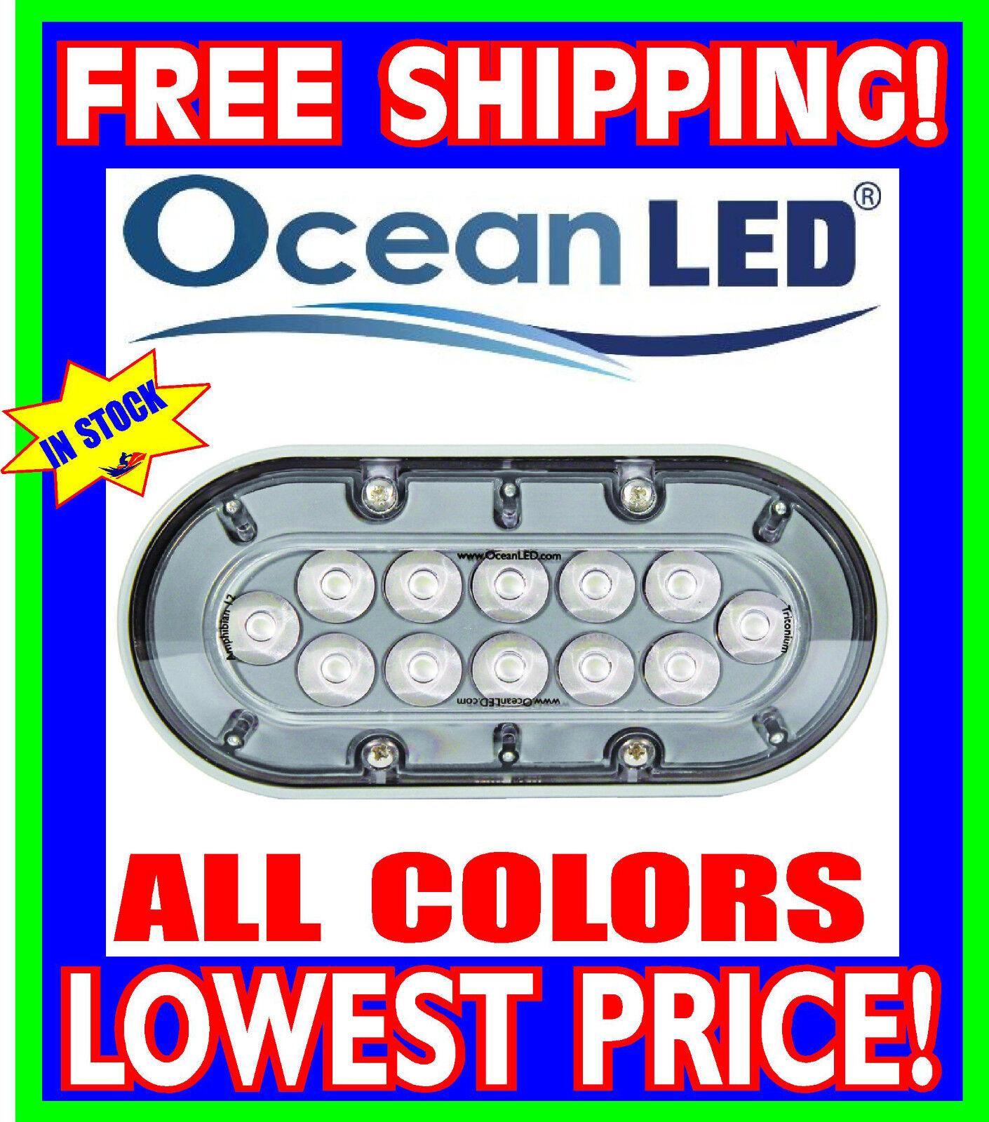 OceanLED T12 anfibio bajo el agua Luces Todos Los Colors Avail Azul blancooo verde