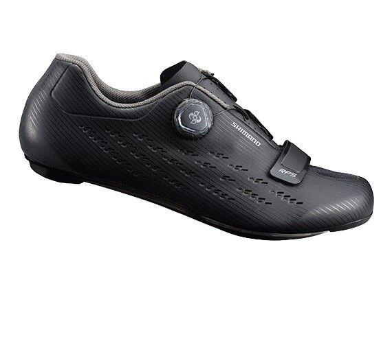 Shimano 2018 RP5 Carbono Boa Calzado para Ciclismo Bicicleta de carretera nos Negro - 46 (11.2)