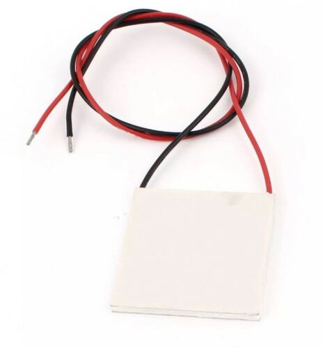 12V 60W TEC1-12706 Heatsink Thermoelectric Cooler Peltier Cooling Plate 40x40mm