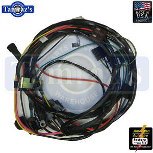 70 Chevelle Engine Wiring Harness HEI V8, 396-454 c.i. Manual Trans on chevy wiring harness, radio wiring harness, gm wiring harness, alternator wiring harness, hid wiring harness,