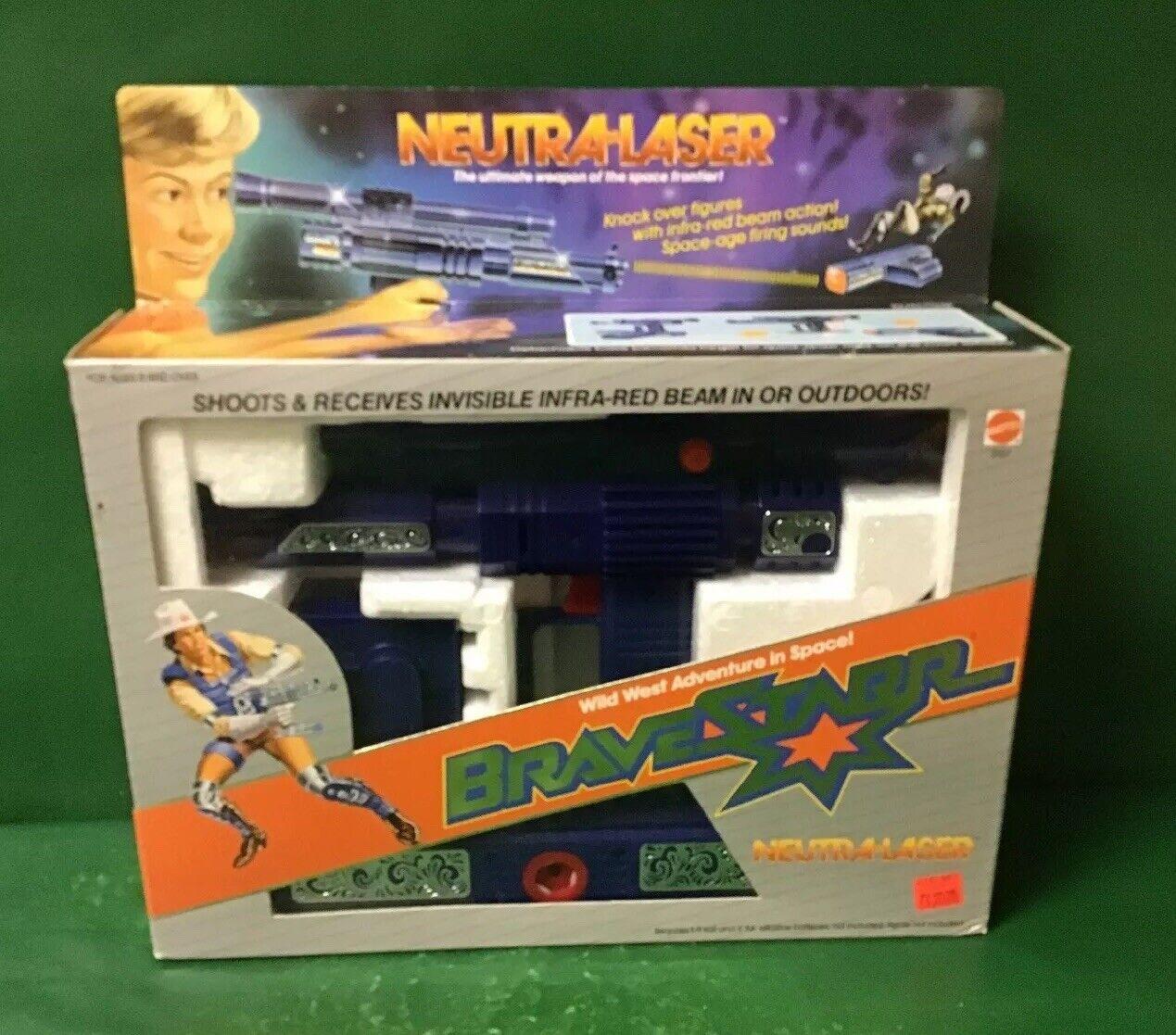 BraveStarr NEUTRA-LASER 1986 NIB By Mattel No.3157