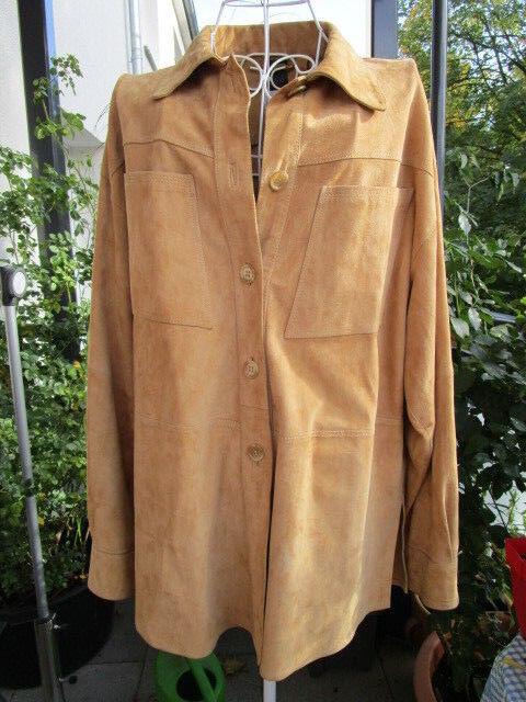 Fashionswear, Boutique Wildleder Jacke, leicht und weich, paßt zu allem  Gr. 42