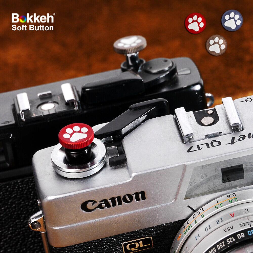 [ Paw ] Bokkeh Small Shutter Soft Release Button Metal Leica M6 FM Fujifim