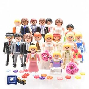 playmobil-Hochzeit-Hochzeitsgesellschaft-Braut-Braeutigam-Brautpaar