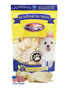 Shadow River USA Premium Lamb Ear Treats for Small Dogs - 10 Pack Petite Size