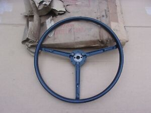 NOS-Mopar-1949-Chrysler-Royal-Windsor-New-Yorker-Blue-Steering-Wheel
