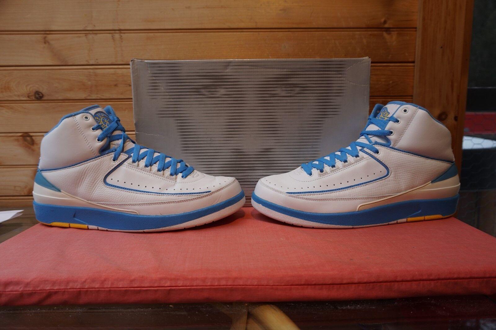 2004 Nike Air Jordan 2 Retro  Carmelo  Sz 12 (0635) 308308-141
