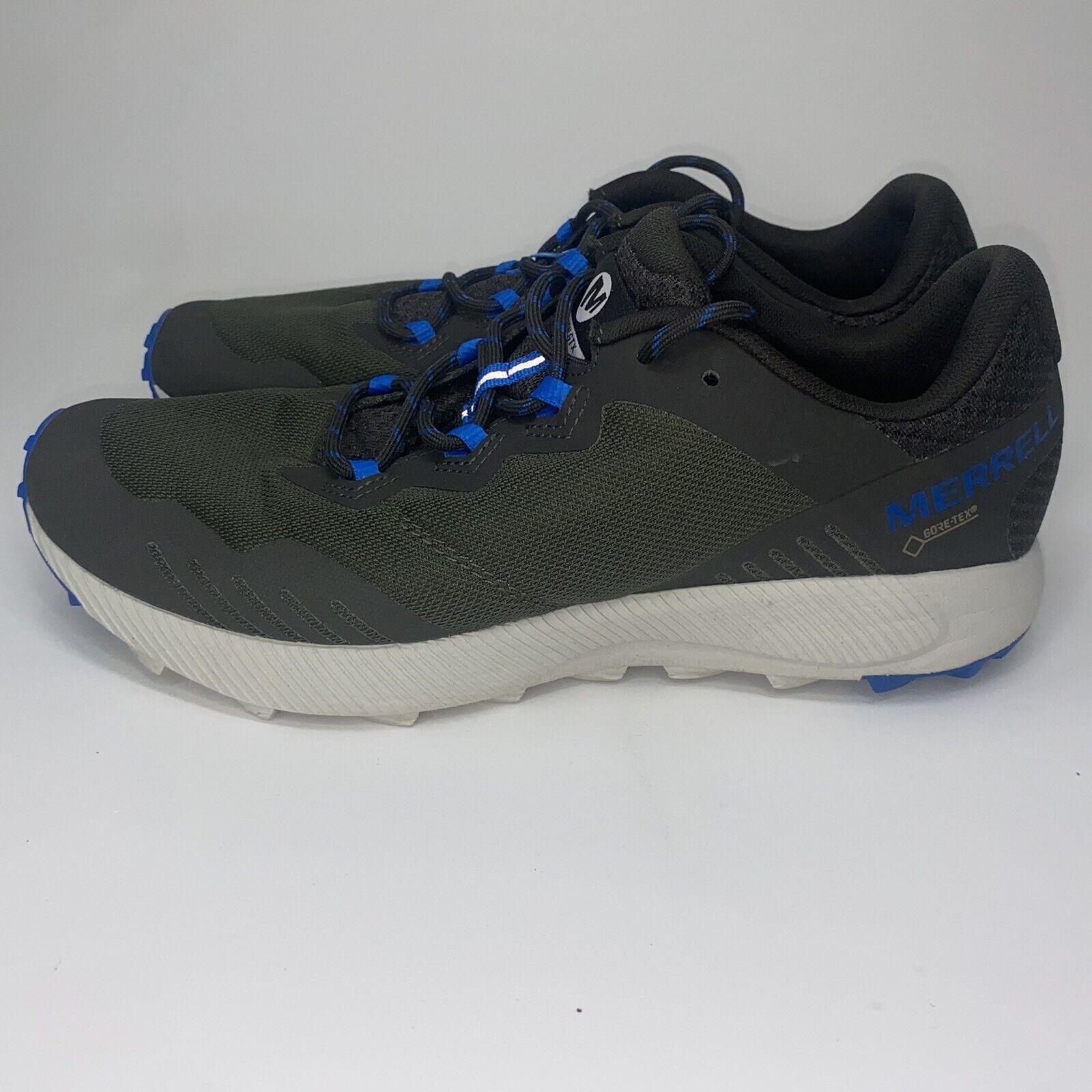 Merrell Fluxion GTX Gore-tex Waterproof J99589 Men Hiking Shoes Sz 8
