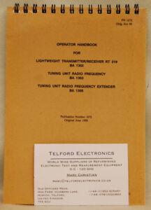 Philips RT319 BA1302 Lightweight Transmitter//Receiver
